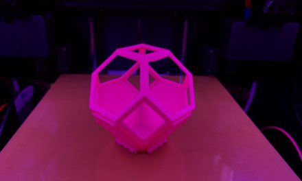 Testing the vibrant Emvio Pink PLA with a non-wasteful test print