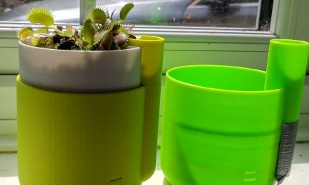 Self watering Planter Colorfabb Fluorescent Yellow