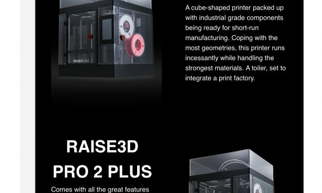 3DGBIRE reveals new Raise3D Pro and Pro 2 Plus printers early