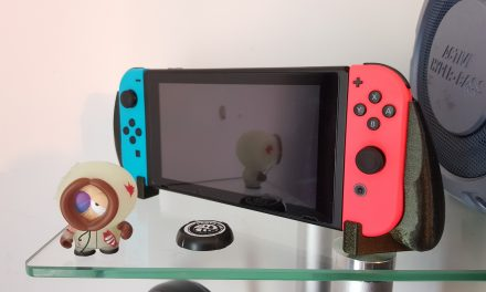 Nintendo Switch grip in Fillamentum Vertigo Galaxy